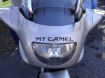 "The name of Mike's K1200LT is ""My Camel""."
