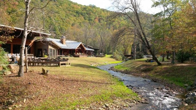 Stecoah Creek runs through the Iron Horse property.