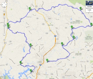 The chicken farm route!