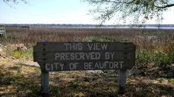 Marsh view preserved by.......