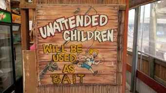 Sign at Boondock's in Wilbur By The Sea, FL.