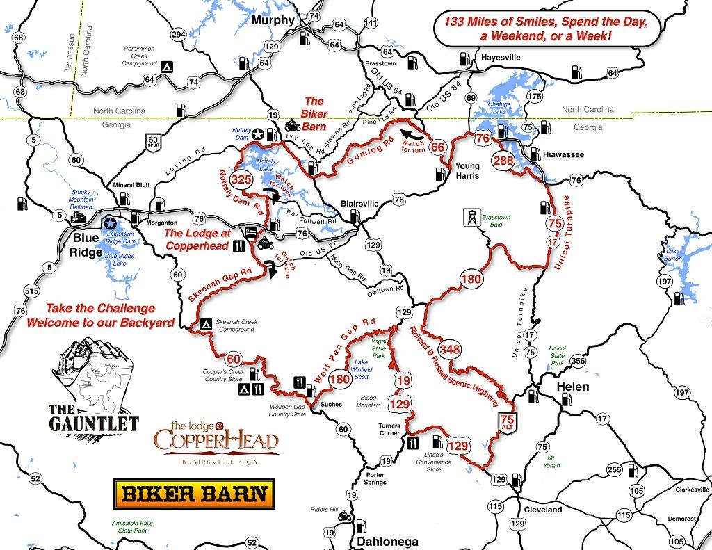 Blood Mountain Chris Amp Donna S Motorcyle Journeys