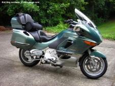 Viking Bags Roll Bag on a BMW K1200LT.
