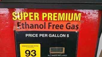 An unexpected birthday surprise! Ethanol free gas in Blue Ridge, GA!