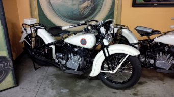 1936 California Highway Patrol Harley Davidsons