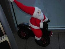 Santa rides too!