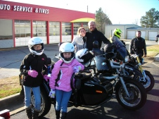 The family that rides together......